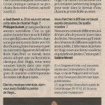 article-sud-ouest-hugo-for-ever