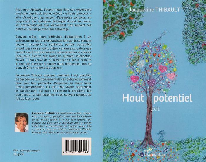 Livre Haut Potentiel de Jacqueline THIBAULT