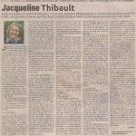 Album Osmoses de Jacqueline Thibault